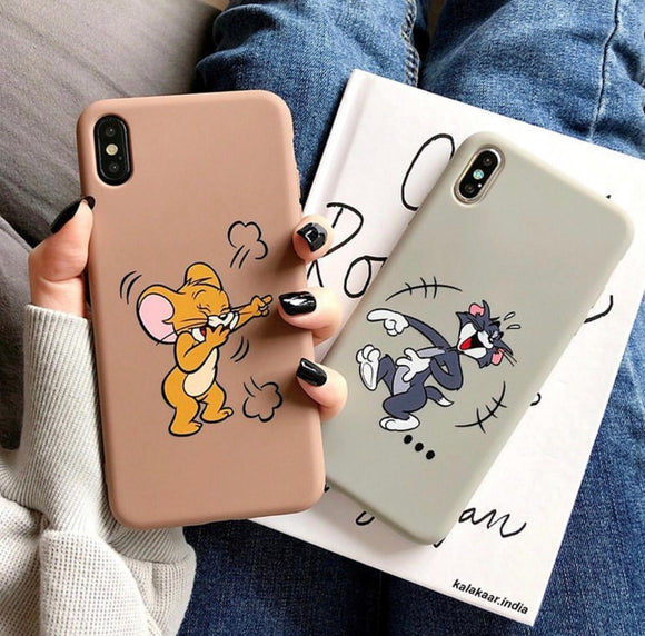 The Tom And Jerry Slim Case Cover - Kalakaar Indiaa