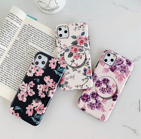 The Floral Threesome   Slim Case Cover - Kalakaar Indiaa