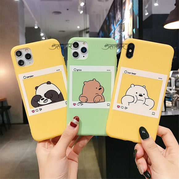 Cute Panda Insta Feed Slim Case Cover - Kalakaar Indiaa