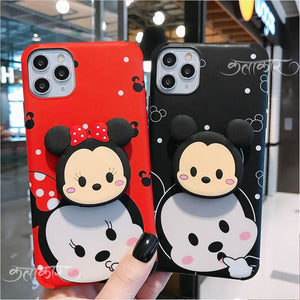 Cartoon Phone Case Slim Case Cover With Holder - Kalakaar Indiaa