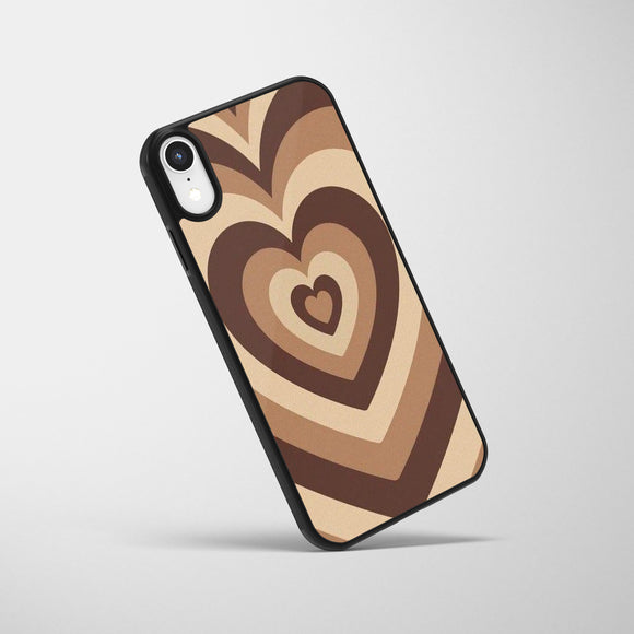 Choco Heart Glass Case