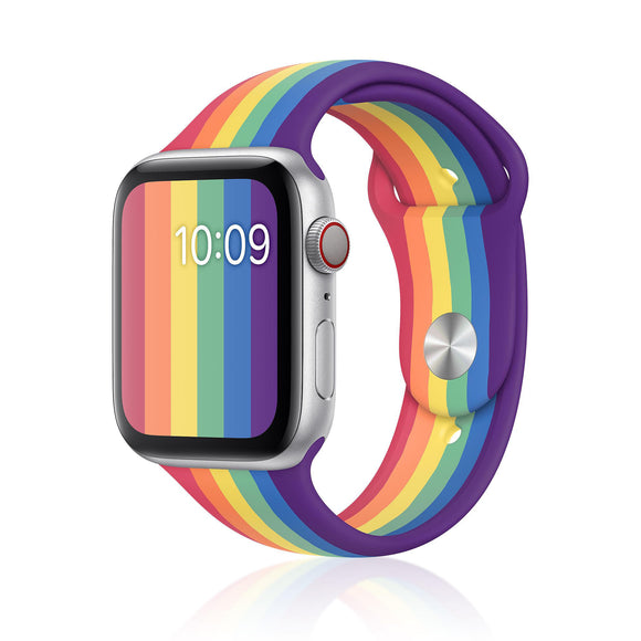 Pride Edition Silicon iWatch Band (38/40 MM) - Kalakaar Indiaa