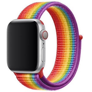 Pride Edition Nylon iWatch Band (42/44 MM) - Kalakaar Indiaa