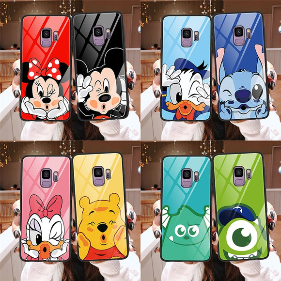 Cartoon Glass Cases - Kalakaar Indiaa