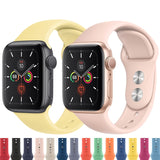 Silicone Colorful Apple Watch Bands - Kalakaar Indiaa