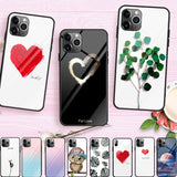 Cute Love Heart Glass Cases - Kalakaar Indiaa