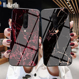 Marble strain Glass Case Cover - Kalakaar Indiaa