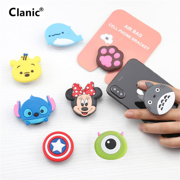 Cute Cartoon Mobile Phone Grip Holder - Kalakaar Indiaa