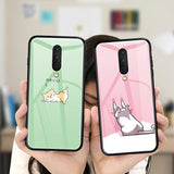 Cartoon Glass Phone Case - Kalakaar Indiaa