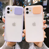 Camera Lens Protection Frosted Finish Phone Case for iPhone 11 11 Pro Max XR XS Max X 7 8 Plus SE 2020 - Kalakaar Indiaa