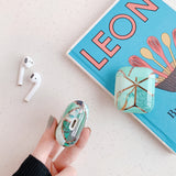 Real Marble Texture AirPods Case For Series 1 & 2