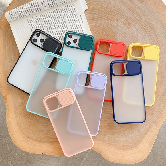 Camera Lens Protection Phone Case For iPhone