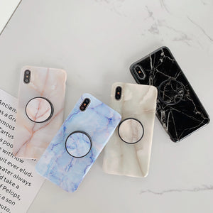 Marble Family V2 Slim Case Cover With Holder - Kalakaar Indiaa