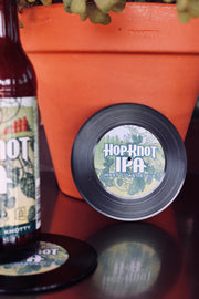 Vintage Hop Knot Record Coasters