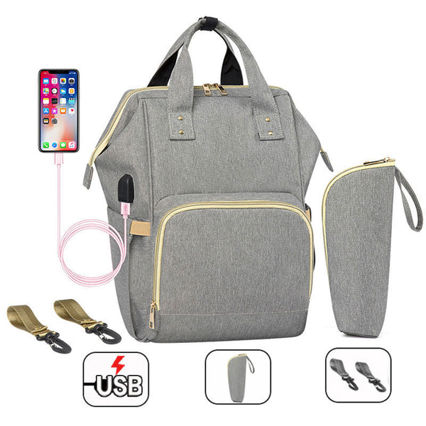 Fashion Mummy Waterproof Diaper Bag