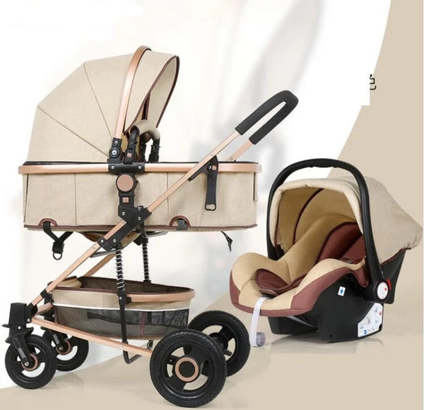 Belecco Luxury Portable Baby Stroller 2 in 1