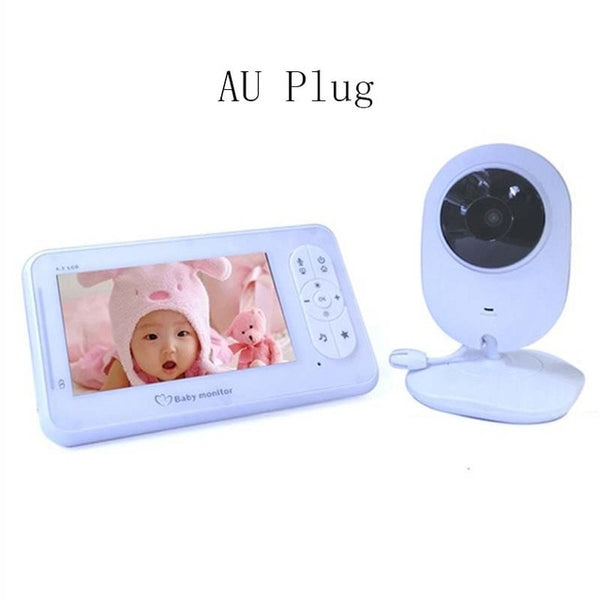 Wireless Baby Monitor 4.3Inch High Resolution