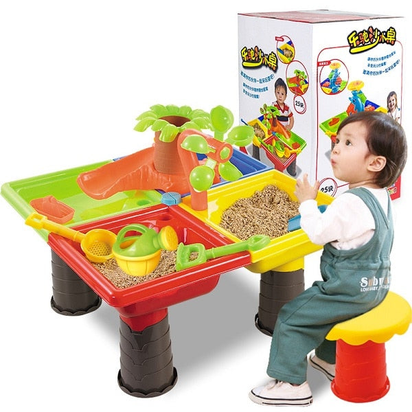 Kids Outdoor Play Sets Sand and Water Table