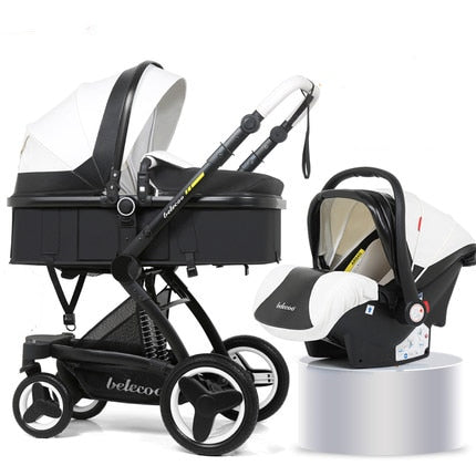 Belecoo Baby Stroller 3 in 1  Baby Trolley