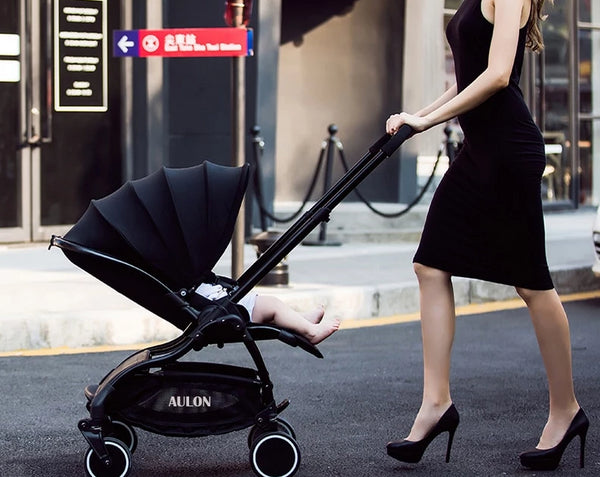 Lightweight Folding Luxury Baby Stroller