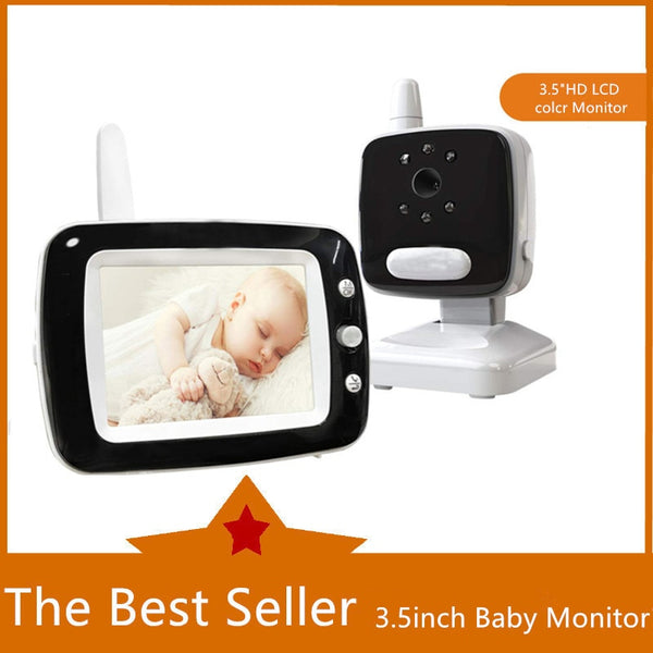 "MBOSS 3.5"" LCD Screen Digital Video Baby Monitor"