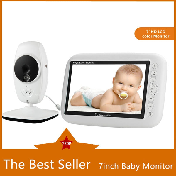 7 Inch Wireless Baby Monitor 720P HD