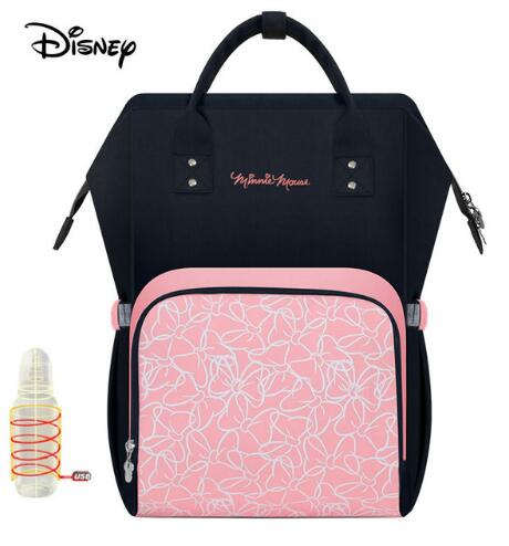 Disney Cute Mickey Red Diaper Bag