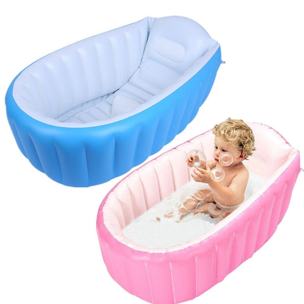 MrY 0-3 Years Baby Inflatable Bathtub