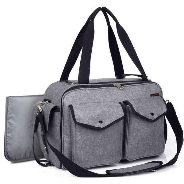 CoolBell Diaper Bag With Insulated Pockets