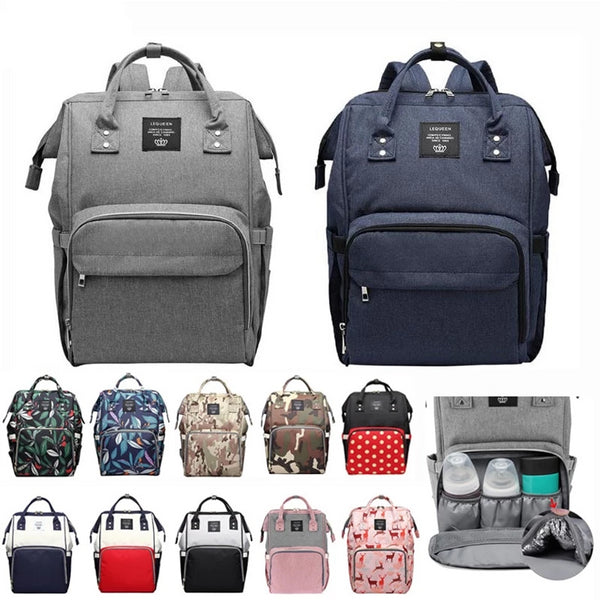 Large Capacity Portable Baby Diaper Bag