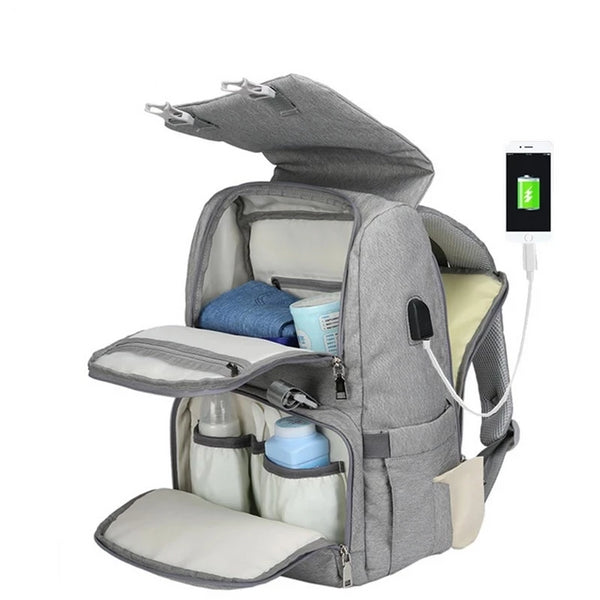 Best Baby Diaper Bag With USB