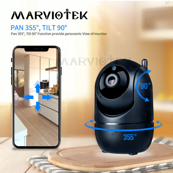 Baby Monitor Auto Tracking IP Camera