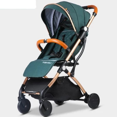 Baby Stroller 2 in 1 Buggy Lightweight Pram
