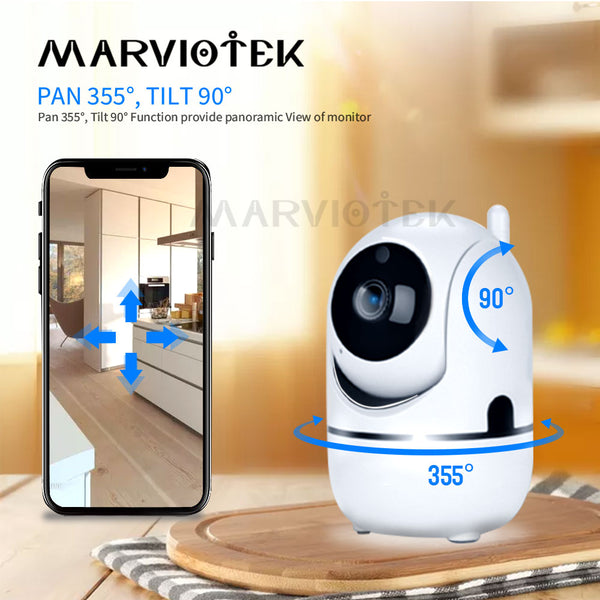Baby Monitor Auto Tracking Mini IP Camera