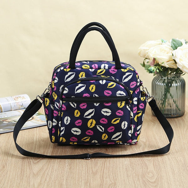 Cute Owls Pattern Women Shoulder Bag