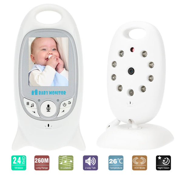 Wireless Baby Video Monitor Rechargeable Battery