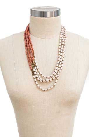 FINAL SALE The Brooklyn Blend 5-Strand Necklace