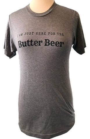 "FINAL SALE: The ""Just Here for the Butter Beer"" Tee"
