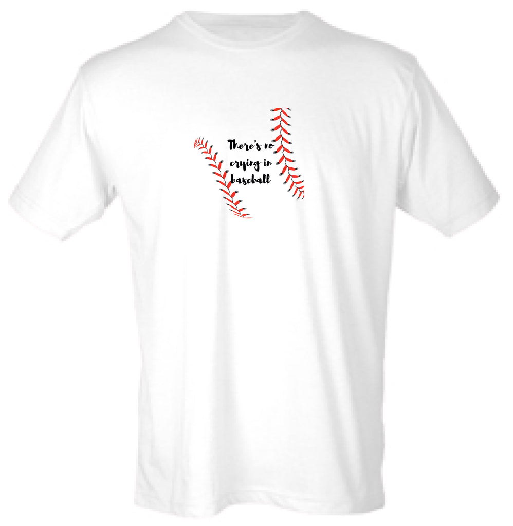59d4701f FINAL SALE: The No Crying in Baseball T-Shirt – Merchant31