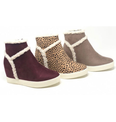 The Highlander Sherpa Bootie