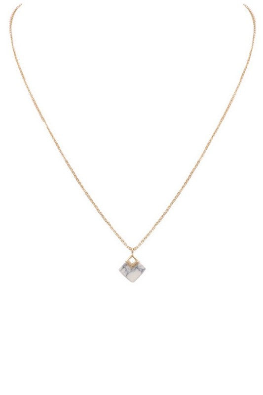 The Hope Dainty Stone Necklace