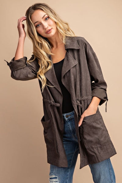 Gigi Notched Collar Jacket