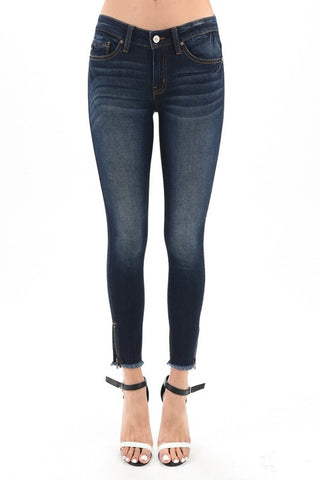 The Zada Zipper Denim