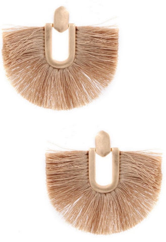 The Freya Fringe Earrings