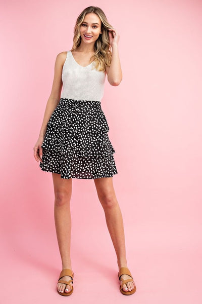 The Bonnie Tiered Skirt