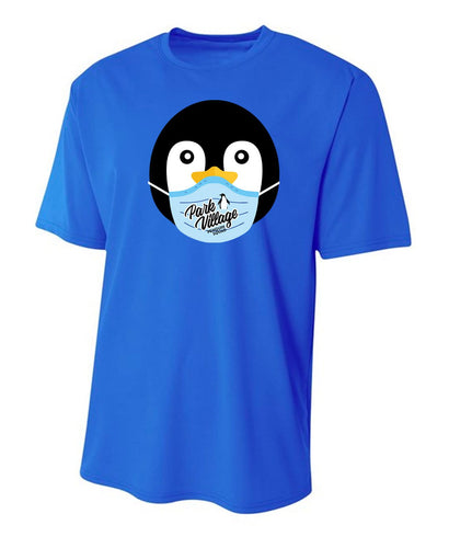 PVF Penguin Mask A4 Men's Sprint Performance T - Royal