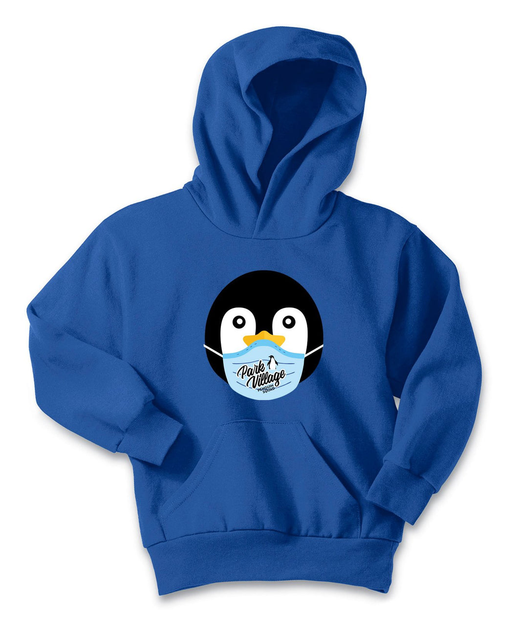 PVF Penguin Mask Port & Company Youth Core Fleece Pullover - Royal--
