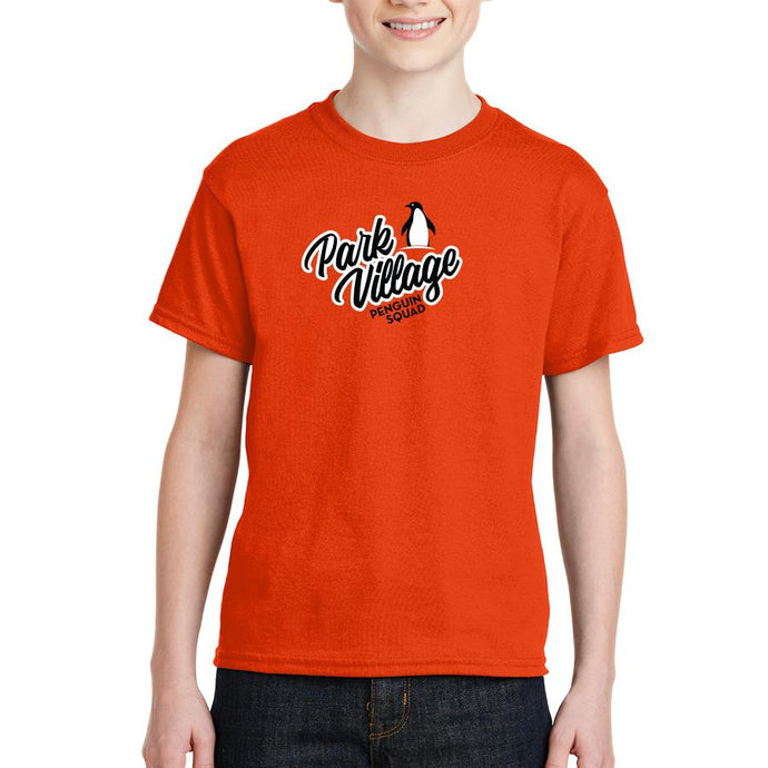 Penguin Squad - Gildan 8000B - Youth DryBlend¨ T-Shirt- ORANGE