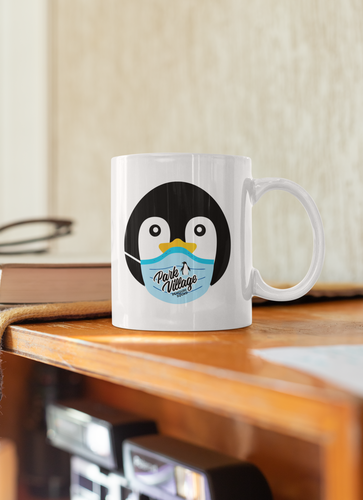 PARK VILLAGE MASK DESIGN MUG -