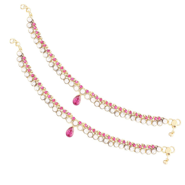 Traditional Gold Plated Payal/ Anklets